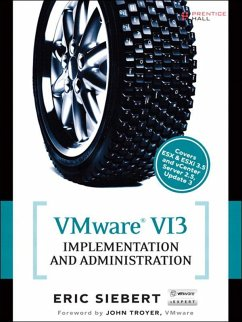 VMware VI3 Implementation and Administration (eBook, ePUB) - Siebert, Eric