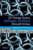 97 Things Every Software Architect Should Know (eBook, ePUB)
