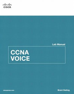 CCNA Voice Lab Manual (eBook, PDF) - Sieling, Brent