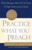 Practice What You Preach (eBook, ePUB)