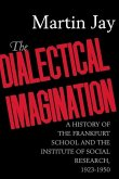 The Dialectical Imagination (eBook, ePUB)
