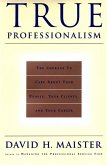 True Professionalism (eBook, ePUB)