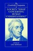 Cambridge Companion to Locke's 'Essay Concerning Human Understanding' (eBook, ePUB)