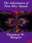 The Adventures of Poor Mrs. Quack (eBook, ePUB)