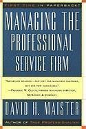 Managing The Professional Service Firm (eBook, ...