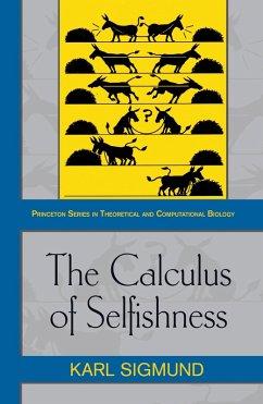 Calculus of Selfishness (eBook, PDF) - Sigmund, Karl