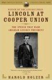 Lincoln at Cooper Union (eBook, ePUB)