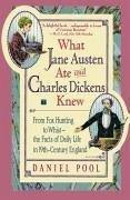 What Jane Austen Ate and Charles Dickens Knew (eBook, ePUB) - Pool, Daniel