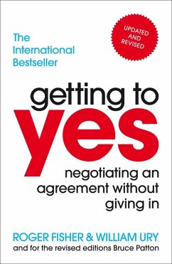 Getting to Yes (eBook, ePUB) - Fisher, Roger; Ury, William