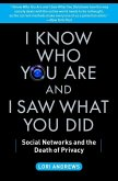 I Know Who You Are and I Saw What You Did (eBook, ePUB)