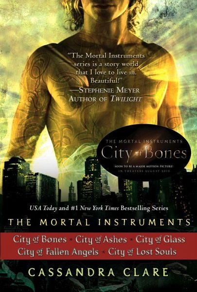 Cassandra Clare: The Mortal Instruments Series (5 books ...