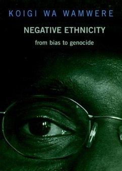 Negative Ethnicity (eBook, ePUB) - Wa Wamwere, Koigi