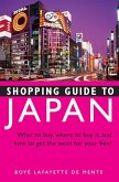 Shopping Guide to Japan (eBook, ePUB)
