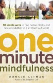 One-Minute Mindfulness (eBook, ePUB)