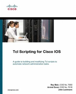 TcL Scripting for Cisco IOS (eBook, PDF) - Blair, Raymond; Durai, Arvind; Lautmann, John