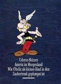 Uderzo Skizzen; Asterix im Morgenland; Wie Obelix als kleines Kind in den Zaubertrank geplumpst ist / Asterix Gesamtausgabe Bd.10