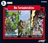 Die Feriendetektive Hörbox, 3 Audio-CDs