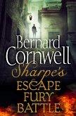 Sharpe 3-Book Collection 4: Sharpe's Escape, Sharpe's Fury, Sharpe's Battle (eBook, ePUB)