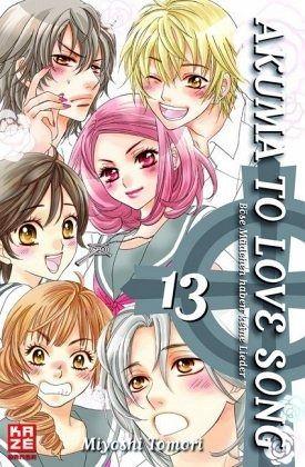 Buch-Reihe Akuma to love song