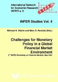 Challenges for Monetary Policy in a Global Financial Market Environment (eBook, PDF)