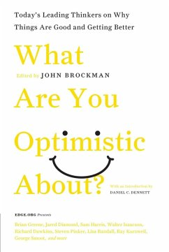 What Are You Optimistic About? (eBook, ePUB) - Brockman, John