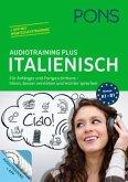 PONS Audiotraining Plus Italienisch, Audio-CD + Begleitbuch