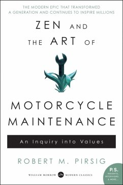 Zen and the Art of Motorcycle Maintenance (eBook, ePUB) - Pirsig, Robert M.
