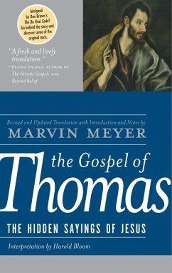 The Gospel of Thomas (eBook, ePUB) - Meyer, Marvin W.