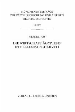 Münchener Beiträge zur Papyrusforschung Heft 105 (eBook, PDF) - Huß, Werner