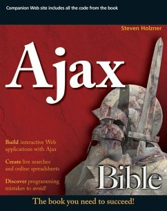 Ajax Bible (eBook, PDF) - Holzner, Steve