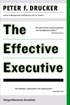 The Effective Executive (eBook, ePUB)