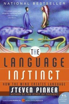 The Language Instinct (eBook, ePUB) - Pinker, Steven