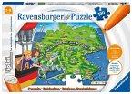 Ravensburger 00831 - tiptoi® Puzzle Deutschland, Puzzeln-Entdecken-Erleben, 100 Teile