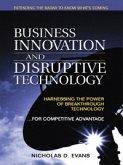 Business Innovation and Disruptive Technology (eBook, PDF)