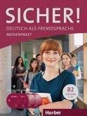 2 Audio-CDs und DVD zum Kursbuch, Lektion 1-12 / Sicher! B2