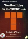 Testbuilder for the TOEIC® Tests, Student's Book with 3 Audio-CDs, Key and Macmillan Practice Online Code