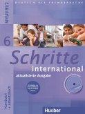 Schritte international 6. Kursbuch + Arbeitsbuch mit Audio-CD zum Arbeitsbuch und interaktiven Übungen