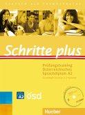 Schritte plus. Prüfungstraining Österreichisches Sprachdiplom A2 Grundstufe Deutsch 2 Z-Variante mit Audio-CD