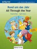 Rund um das Jahr. Kinderbuch Deutsch-Englisch