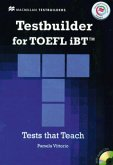 Testbuilder for TOEFL iBT, Student's Book with 2 Audio-CDs, Key and Macmillan Practice Online Code