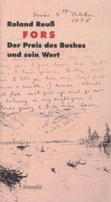 Fors - Reuß, Roland