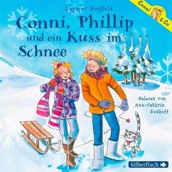 Conni, Phillip und ein Kuss im Schnee / Conni & Co Bd.9 (2 Audio-CDs) - Hoßfeld, Dagmar