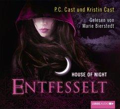 Entfesselt / House of Night Bd.11 (5 Audio-CDs) - Cast, P. C.; Cast, Kristin
