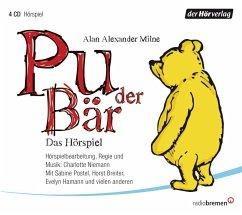 Pu der Bär, 4 Audio-CDs - Milne, Alan Alexander