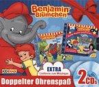 Benjamin Blümchen - Gute-Nacht-Geschichten / Liederzoo, 2 Audio-CDs