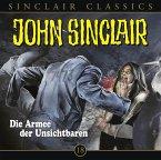 Die Armee der Unsichtbaren / John Sinclair Classics Bd.18 (1 Audio-CD)