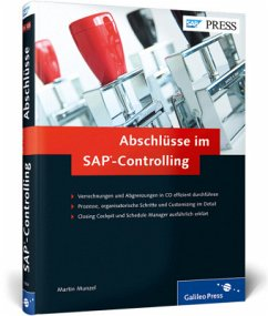 Abschlüsse im SAP-Controlling