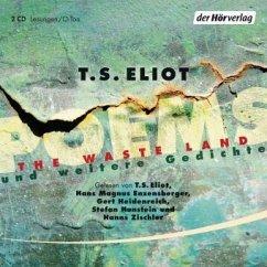 Poems, 2 Audio-CDs - Eliot, T. S.