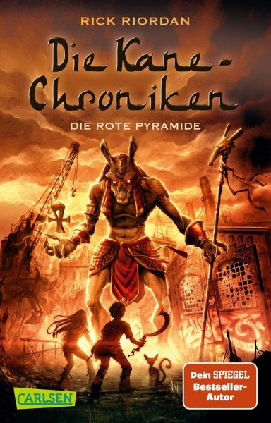 rick riordan-die kane-chroniken-die rote pyramide
