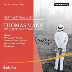 Die großen Erzählungen, 14 Audio-CDs - Mann, Thomas